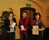 Zwycięzcy konkursu - Agnieszka Pysz (PCPR Bielsko-Biała, Konrad Duszyński (Concerd) i Izabela Dziedzic-Stolarczyk (Stowarzyszenie Węgierka)